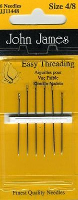 John James - Easy Threading <br>Needles - 4/8