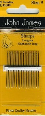 John James - Sharps <br>Needles Size 9
